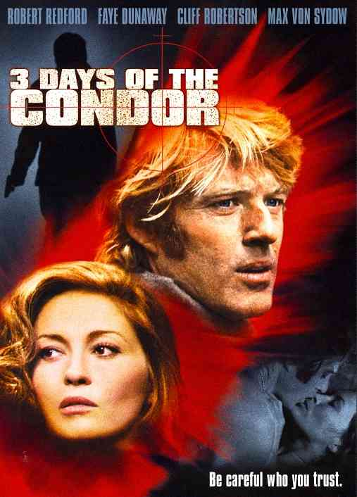 3 DAYS OF THE CONDOR BY REDFORD,ROBERT (DVD)